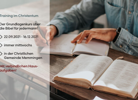 """Training im Christentum"" – Grundkurs"